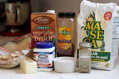 Masa recipe and veggie tamales