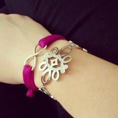 New infinity bracelet! #creativity #RomanticDesign #bijoux #diy #handmade