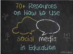Tons of Great Resources to Help You Use Social Media in Class ~ Educational Technology and Mobile Learning
