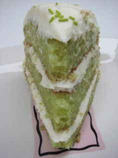 Key Lime Cake........sounds yummy!