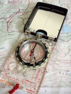 How to Navigate with a Map and Compass. A great skill to master.