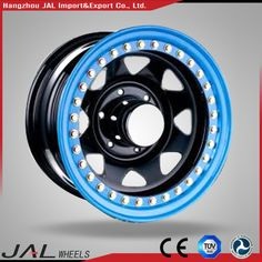 Dot Approval Beadlock Wheel Black Rims Blue Lips Wheel , Find Complete Details about Dot Approval Beadlock Wheel Black Rims Blue Lips Wheel,Beadlock Wheel,Sunraysia Steel Wheel from Supplier or Manufacturer-Hangzhou JAL Import & Export Co. 4x4 Tires, Blue Lips, Black Rims, Steel Wheels, Ideas, Cars, Pickup Trucks, Thoughts