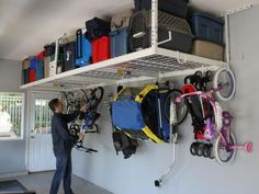 Garage Storage: Hooks and Hangers | Home Remodeling - Ideas for Basements, Home Theaters & More | HGTV