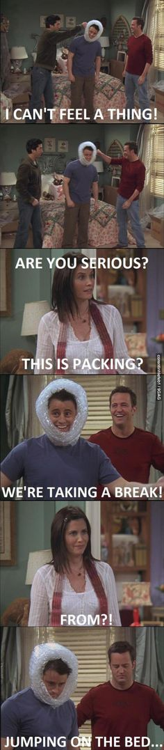Oh Joey and Chandler...