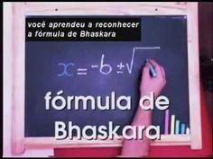 Vídeo Youtube: Deduzindo a fórmula de Bháskara, solucionar uma situação do cotidiano com equação do 2º grau.