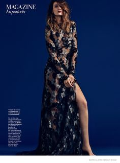 Maria Valverde Poses for Kevin Sinclair in Marie Claire Spain Shoot