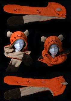 These Geeky Cosplay Hats Are Fun Winter Wear