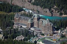 Styled as a Scottish Baronial Castle  Fairmont Banff Springs Hotel, Canada....  I've always wanted to stay here.