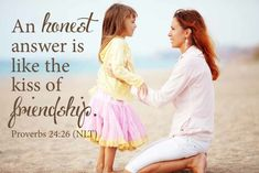 The Importance of Truthful Parenting ~www.thebettermom.com