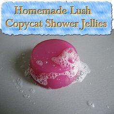Homemade Lush Copycat Shower Jellies