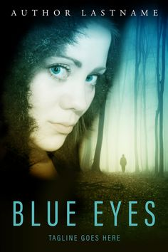 Blue Eyes: Premium Premade Book Cover. Click the image to visit my site! Cover available for purchase or layby for US$70. #blueeyes #suspense #bookcover #book #cover #contemporary #thriller #author #indieauthor #bookmarketing #epub #selfpublishing
