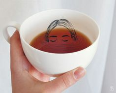 """ice-souls: """"""""A cup of tea is like having a bath on the inside."""" Instagram: @susi.bue """""""