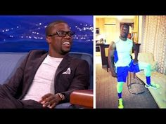 Kevin Hart Has An Incredible Work-Out Outfit - YouTube