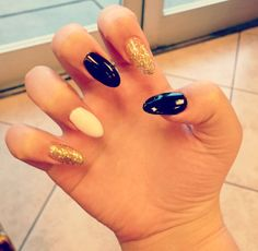 Don't like it pointy like this but love the idea of the colors and sparkles