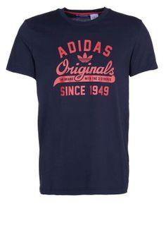 Camiseta print - azul