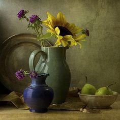 Blue vase | annanemoy.blogspot.com/ | Anna Nemoy | Flickr
