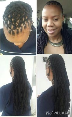 Loc style for long locs                                                                                                                                                      More