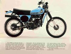 1976- Yamaha IT400C Second motorcycle I owned, very exciting at the time first serious Japanese enduro bike. Vertually a Motocrosser with lights.