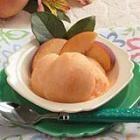 Peach Sorbet Recipe: Failure.  It just wasn't anything worth making again
