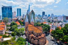 Get to see such attractions as Notre Dame Cathedral and #Chinese market, enjoy the deliciousness of #Vietnamese #food. It`s all possible if you join Ho Chi Minh (#Saigon) city full day #tour.