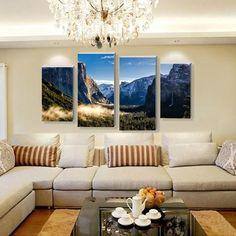 The Valley Multi Panel Canvas