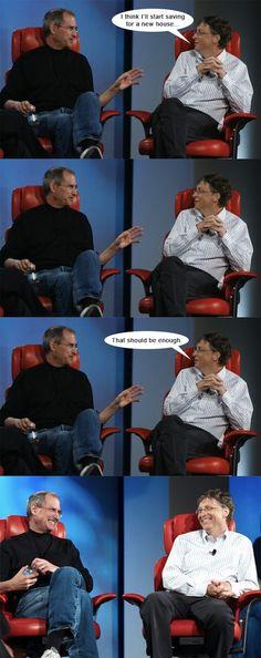 Steve Jobs vs Bill Gates (3)
