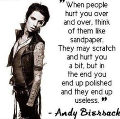 andy biersack quotes about love - Google Search