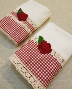 Every customer is very valuable to us, but we have a more special connection with some of them . Towel Embroidery, Hand Embroidery Videos, Vinyl Crafts, Diy And Crafts, Sewing Crafts, Sewing Projects, Kitchen Hand Towels, House Quilts, Decorative Towels
