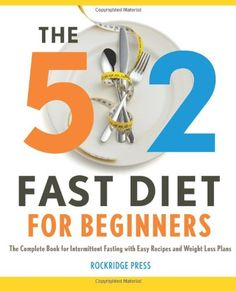 The Diet For Weight Loss. A Fasting Diet. The 2 Fast Diet for Beginners: The Complete Book for Intermittent Fasting with Easy Recipes and Weight Loss Weight Loss Plans, Fast Weight Loss, Weight Loss Program, Healthy Weight Loss, Weight Loss Tips, Losing Weight, 1200 Calorie Diet Meal Plans, Easy Meals, Easy Recipes