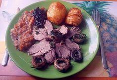Egészben sült vaddisznó Pork, Beef, Kale Stir Fry, Meat, Pork Chops, Steak