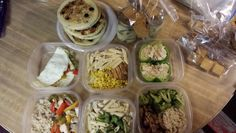 Meal prep. Breafast, lunch , dinner and snacks