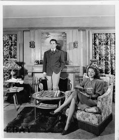 Eleanor Powell and home with husband Glenn Ford