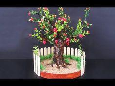 How to Make Newspaper Bonsai Tree | DIY Newspaper Recycling Craft | DIY Home Decor - YouTube