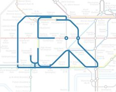 who'd have guessed there was an elephant hiding in the London Underground? Elephant  Castle the Elephant.