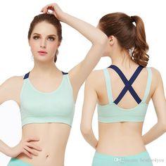 54c71c4cb0bbc Professional Yoga Clothing Vest Shockproof Running Fitness Sports Underwear  Bra Gather Thin Section Sleep No Trace