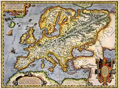 European History, World History, Black History, Old Maps, Antique Maps, Map Crafts, Decoupage, Fantasy Map, Map Art