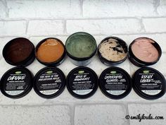 Top 5: LUSH Face Masks | Including Fresh Face Masks > Cupcake, Mask of Magnaminty, Rosey Cheeks, Catastrophe Cosmetic, The Man in the Mushroom | emilyloula beauty blog