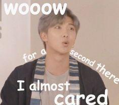 When antis start hating bts Me: Bts Memes Hilarious, Cute Memes, Stupid Funny Memes, Funny Relatable Memes, K Pop, Whatsapp Text, Response Memes, Bts Face, Bts Meme Faces