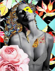 #collage #madeinitaly #flowers #fashion #colors #girl #calvinklein #psychedelic #gucci #pattern