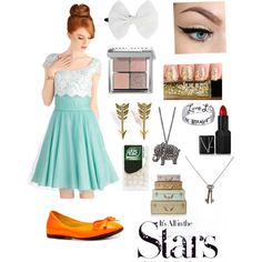 """""""It's all in the STARS."""" by theogr on Polyvore"""