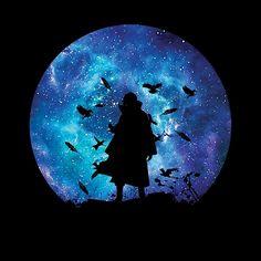 Itachi of the Silhouette Sharingan #naruto #itachi #uchiha #sasuke #silhouette #ninja #anime
