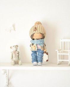 Малышу ещё года нет, а его мамулечка уже видит его путешественником🤗🤗🤗💓💞 #подарокнагод #куклавподарок