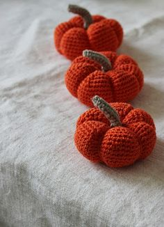 ... | Crochet Apple, Crochet Strawberry and Free Pumpkin Patterns
