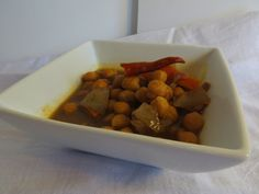 Spicy chana dal is the perfect side dish for curry.