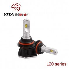 L20-Yita Black 160W Philip 6000K LED Headlight Replacement Bulbs
