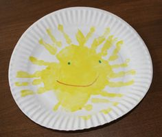 beginners class craft for the Maes sunshine box