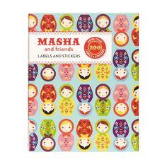 Masha & Friends Labels, $12.95 #sportsgirl