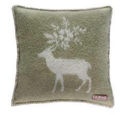 JJ Textiles Stag Cushion @kindredandkind