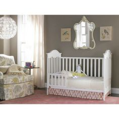 fb257d7aaa0187 Fisher-Price Charlotte 3-in-1 Convertible Crib. Traditional CribsWhite Baby  ...