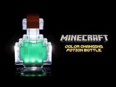 Minecraft Color Changing Potion Bottle | ThinkGeek
